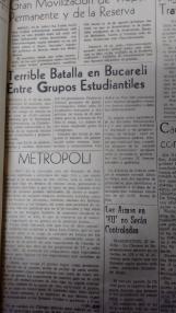 Algunos de los encabezados de los diarios del Valle de Toluca
